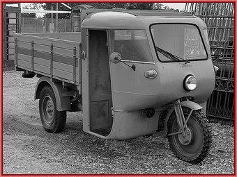 Motocarro<br /><br /> Ercole della Guzzi